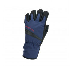 Sealskinz Fietshandschoenen waterdicht voor Heren Blauw Zwart / Waterproof All Weather Cycle Glove Navy Blue/Black
