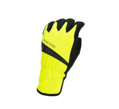 Sealskinz Fietshandschoenen waterdicht voor Heren Fluo Zwart / Waterproof All Weather Cycle Glove Neon Yellow/Black