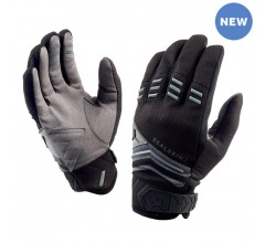 SealSkinz Dragon Eye MTB Glove  / Fietshandschoen Zwart Antraciet