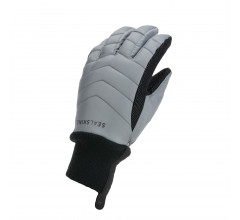 Sealskinz Fietshandschoenen waterdicht voor Heren Grijs Zwart / Waterproof All Weather Lightweight Insulated Glove Grey/Black
