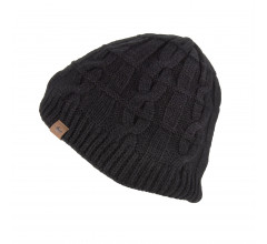 Sealskinz Casual muts waterdicht voor Heren Zwart  / Waterproof Cold Weather Cable Knit Beanie Black