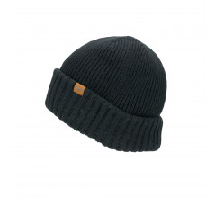 Sealskinz Casual muts waterdicht voor Heren Zwart  / Waterproof Cold Weather Roll Cuff Beanie Black