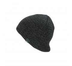 Sealskinz Casual muts waterdicht voor Heren Zwart  / Waterproof Cold Weather Reflective Beanie Black