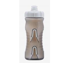 Fabric Bidon 600ML Cageless Grijs-Wit / Cageless Bottle BKW 600ml