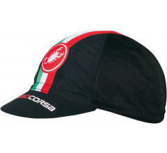 CASTELLI Performance Cycling cap / Fietsmuts Black onesize