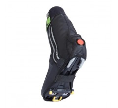 SealSkinz Lightweight Halo overshoe (with LED) / overschoen Zwart Rood
