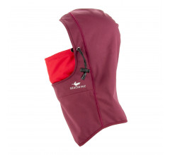 Sealskinz Bivakmuts waterdicht voor Heren Rood  / Waterproof All Weather Head Gaitor Red