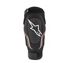 Alpinestars Elleboog beschermer Zwart Wit / AL Evolution Elbow Protector-Black White Red