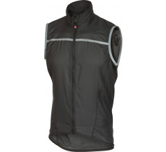 Castelli Windstopper Heren Zwart Zwart / CA Superleggera Vest Anthracite