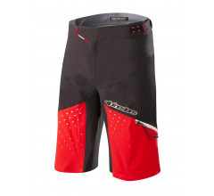 Alpinestars MTB broek kort Heren Zwart Rood / AL Drop Pro Shorts-Black Red
