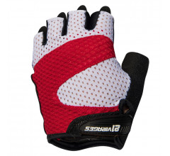 21Virages fietshandschoenen zomer unisex Rood Wit / Summer cycling glove Airflow Red white
