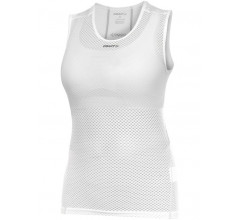 Craft Mesh Superlight Stay Cool W mouwloos ondershirt dames wit