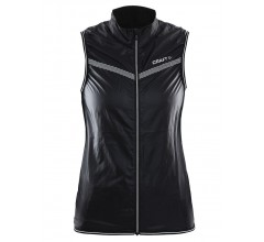 Craft Featherlight Vest W / Fietsvest Dames zwart