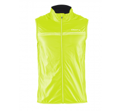 Craft Featherlight Vest M / Windstopper Fluo Geel