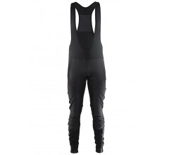 Craft Velo Thermal Wind Bib Tights M / Fietsbroek Zwart