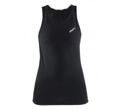 Craft Cool Intensity Singlet W  / Zweethemd mouwloos Dames Zwart