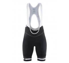 Craft Belle Solo bib shorts W / Fietsbroek Dames Zwart