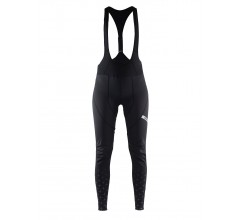 Craft Belle Glow Bib Tights W / Fietsbroek Dames Zwart