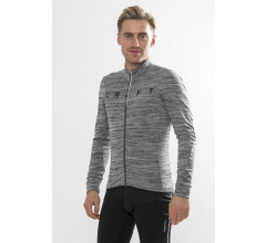 Craft Fietsshirt Heren Grijs Zwart / REEL THERMAL JERSEY M DK GREY MELANGE/BLACK
