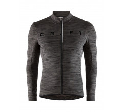 Craft Fietsshirt Heren Zwart  / REEL THERMAL JERSEY M BLACK