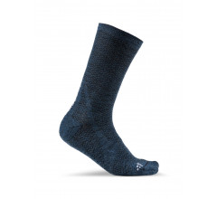 Craft Fietssokken Winter Unisex Blauw  / WARM MID SOCK FJORD/TROOPER