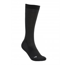 Craft Warm Mid Sock M / Fietssok Zwart Wit