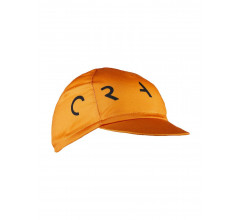 Craft Fietspetje Unisex Oranje Zwart - RACE BIKE CAP GLORY/BLACK