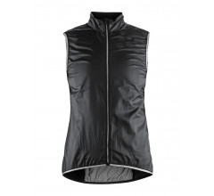 Craft Windstopper Mouwloos Dames Zwart  / LITHE VEST W BLACK