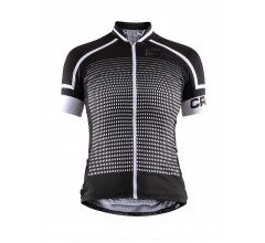 Craft Fietsshirt Korte mouwen Dames Zwart Wit / EMPRESS JERSEY SS W BLACK/WHITE