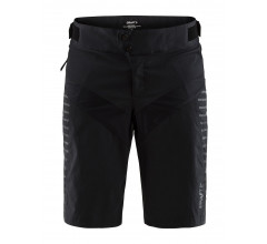 Craft MTB Casual fietsbroek kort Dames Zwart  / EMPRESS XT SHORTS W BLACK