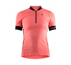 Craft fietsshirt korte mouwen dames Roze / POINT JERSEY W