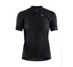 Craft fietsshirt korte mouwen dames Zwart / POINT JERSEY W