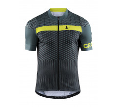 Craft Fietsshirt Heren Grijs Zwart / ROUTE JERSEY M GRAVITY/BLACK