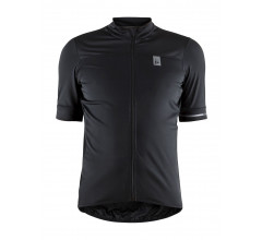 Craft fietsshirt korte mouwen heren Zwart / POINT JERSEY M