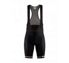 Craft fietsbroek heren Zwart / RISE BIB SHORTS M
