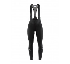Craft Fietsbroek lang met bretels Dames Zwart  / IDEAL THERMAL BIB TIGHTS W BLACK