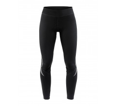 Craft Fietsbroek lang zonder bretels Dames Zwart  / IDEAL THERMAL TIGHTS W BLACK