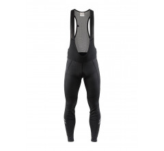 Craft Fietsbroek lang met bretels Heren Zwart  / IDEAL WIND BIB TIGHTS M BLACK