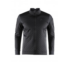 Craft Fietsjack Lange mouwen Heren Zwart  / RIDE INSULATION JKT M BLACK