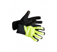 Craft Fietshandschoenen Winter Unisex Fluo Zwart / SHIELD 2.0 GLOVE FLUMINO/BLACK