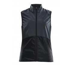 Craft Windstopper Mouwloos Dames Zwart  / GLOW VEST W BLACK