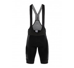 Craft Fietsbroek met bretels - koersbroek Heren Zwart  / CTM ARMOR BIB SHORTS M BLACK