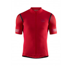 Craft Fietsshirt Heren Bordeaux Zwart / HALE GLOW JERSEY M CANYON/BLACK
