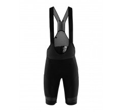 Craft Fietsbroek met bretels - koersbroek Heren Zwart  / HALE GLOW BIB SHORTS M BLACK