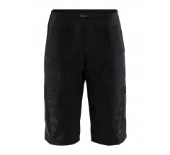 Craft Fietsbroek kort zonder bretels Heren Zwart  / HALE XT SHORTS M BLACK