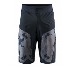 Craft Fietsbroek MTB Kort zonder Zeem Heren Zwart Multikleur - HALE XT SHORTS M BLACK/MULTI