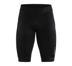 Craft Fietsbroek kort zonder bretels Heren Zwart Zilver / ESSENCE SHORTS M BLACK/SILVER