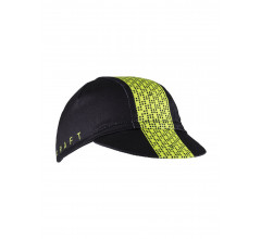 Craft Fietspetje Unisex Zwart  / FONDO BIKE CAP BLACK/LIME