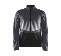 Craft Fietsjack Heren Grijs Zwart / IDEAL JKT M ASPHALT/BLACK