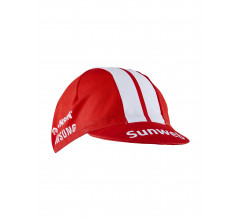 Craft Koerspetje Unisex Rood Wit / TEAM SUNWEB BIKE CAP TEAM SUNWEB RED
